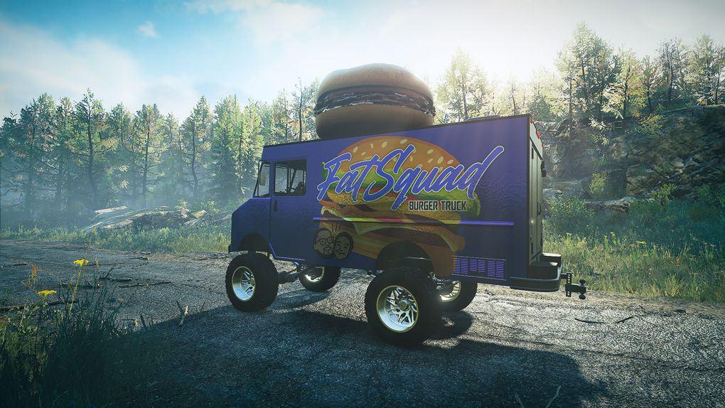 SnowRunner - FatSquad Food Truck V1.0