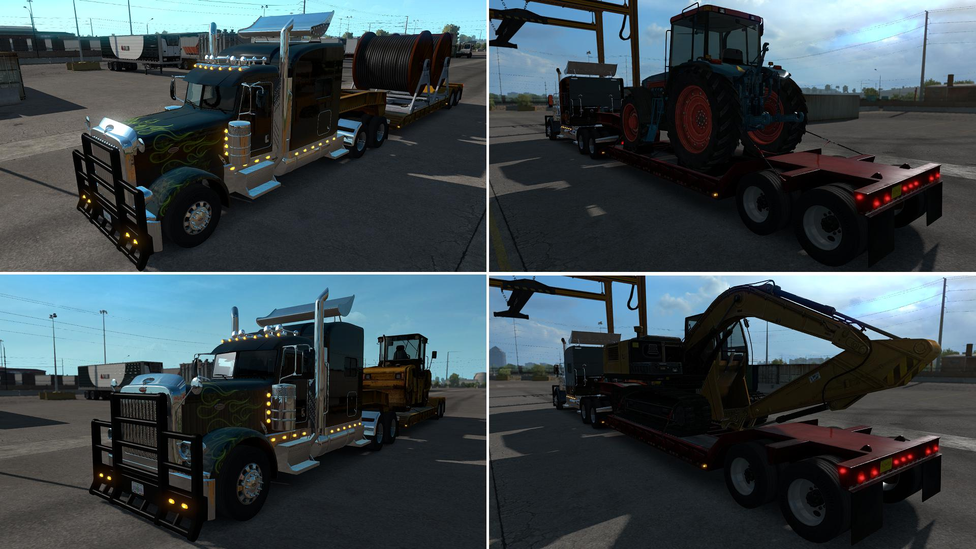 ATS - Lowboy Yellow & Red Onwable [MP-SP]