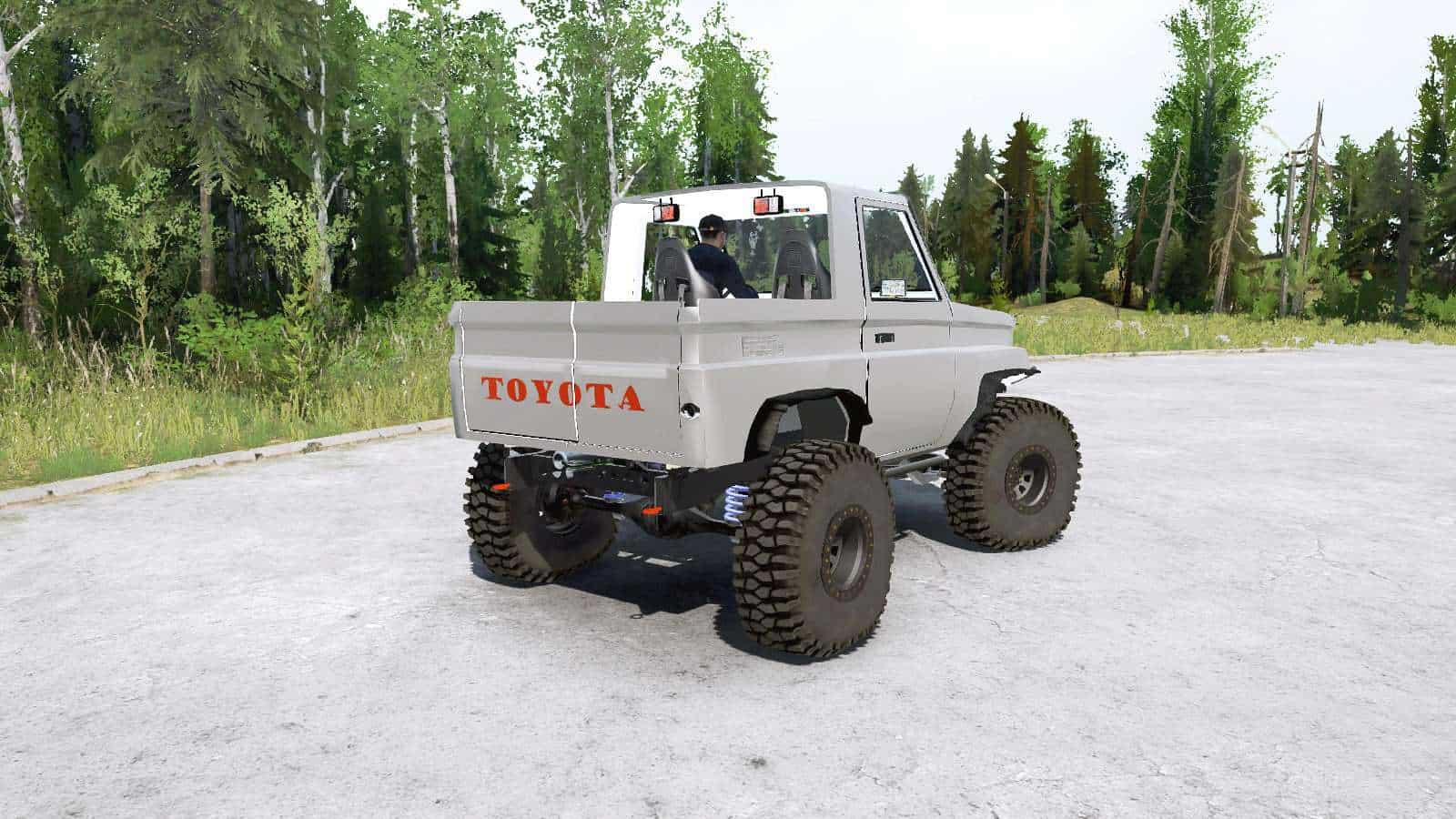 Spintires:Mudrunner - Toyota Land Cruiser 70 Pickup