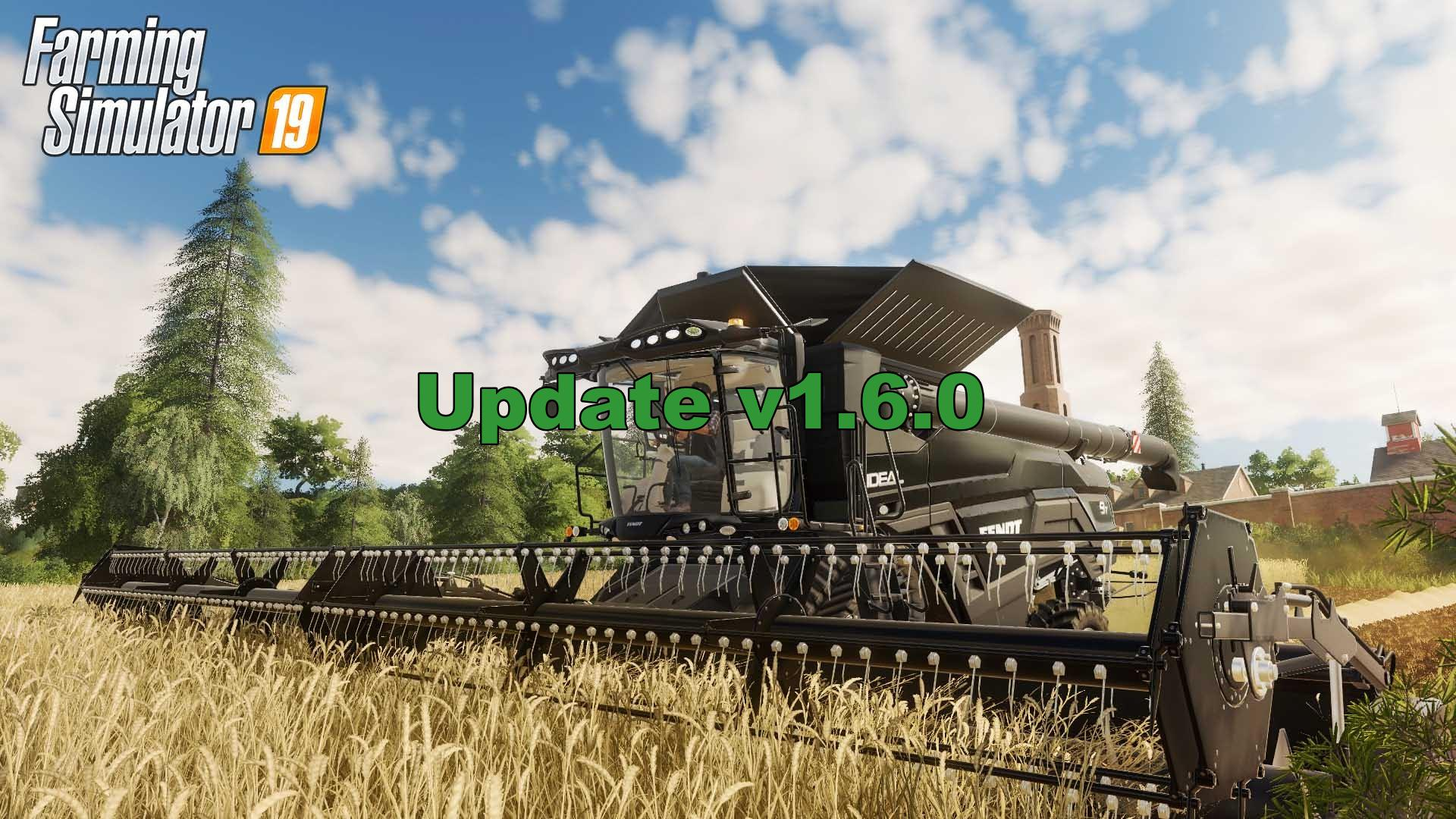 Farming Simulator 19 Update V1.6.0