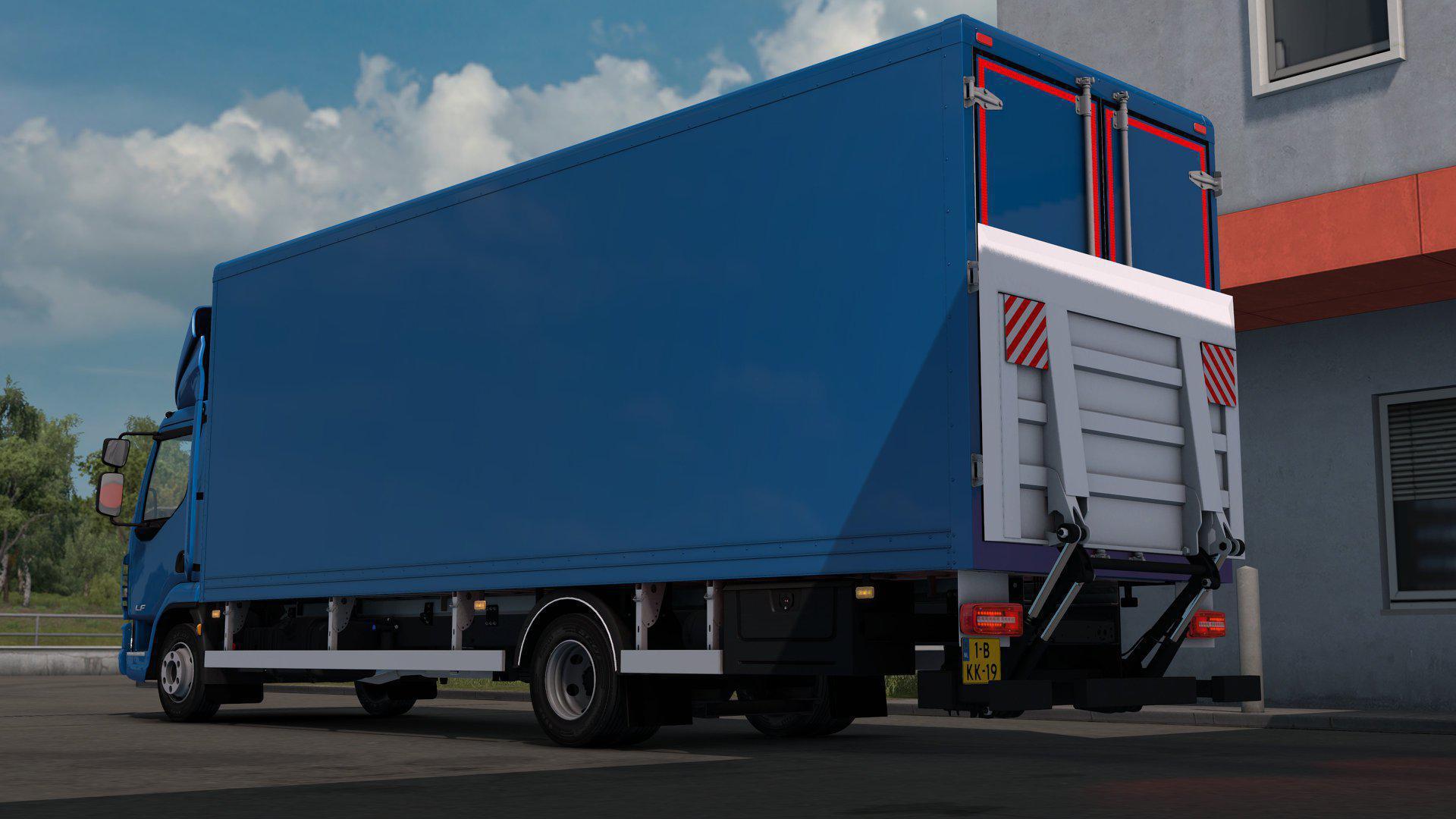 ETS2 - DAF LF Truck V1.0 (1.35.X)