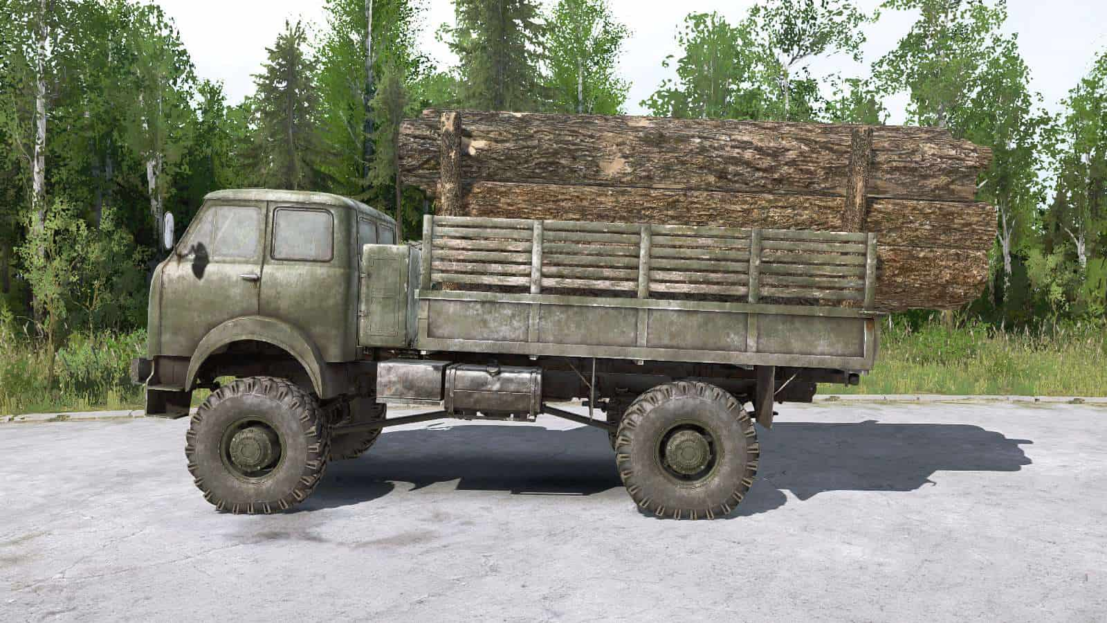 Spintires:Mudrunner - Mas 505 Truck