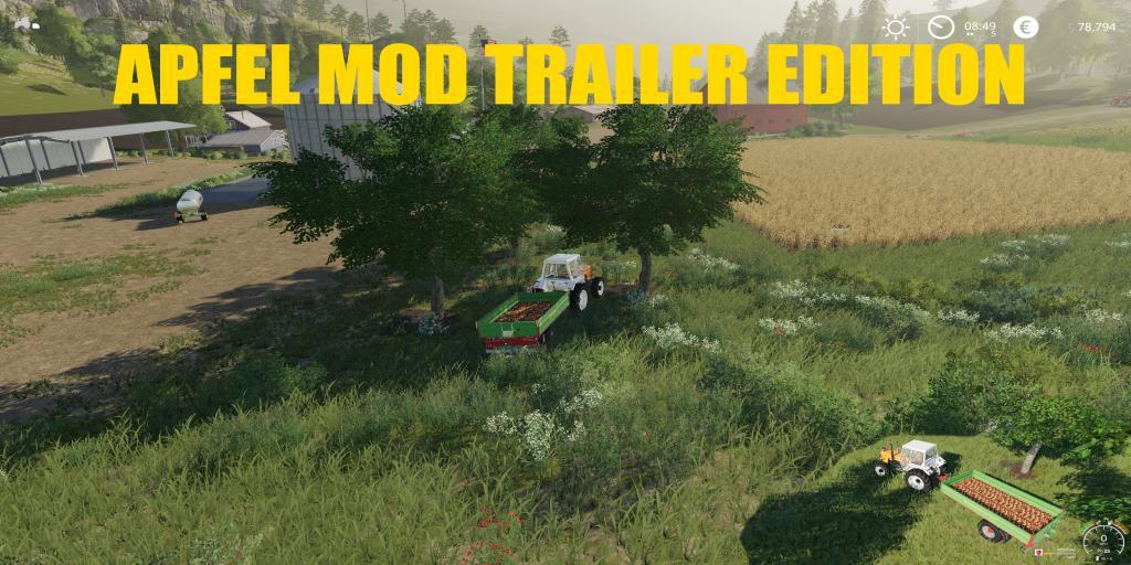 FS19 - Appel Mod Trailer Edition V1.0
