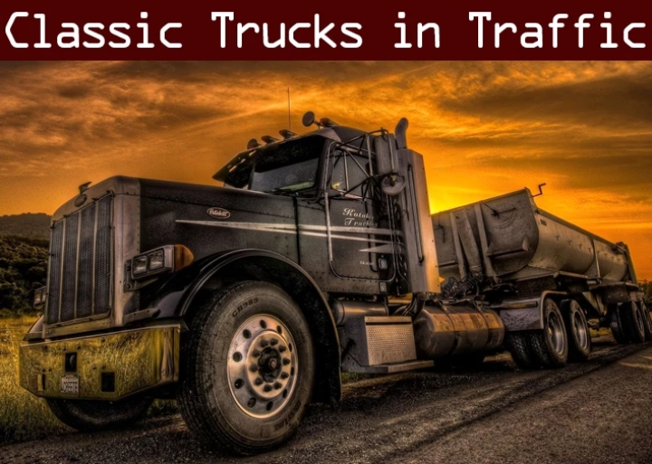 ATS - Classic Truck and Trailer Traffic Pack V2.4 (1.41.x)
