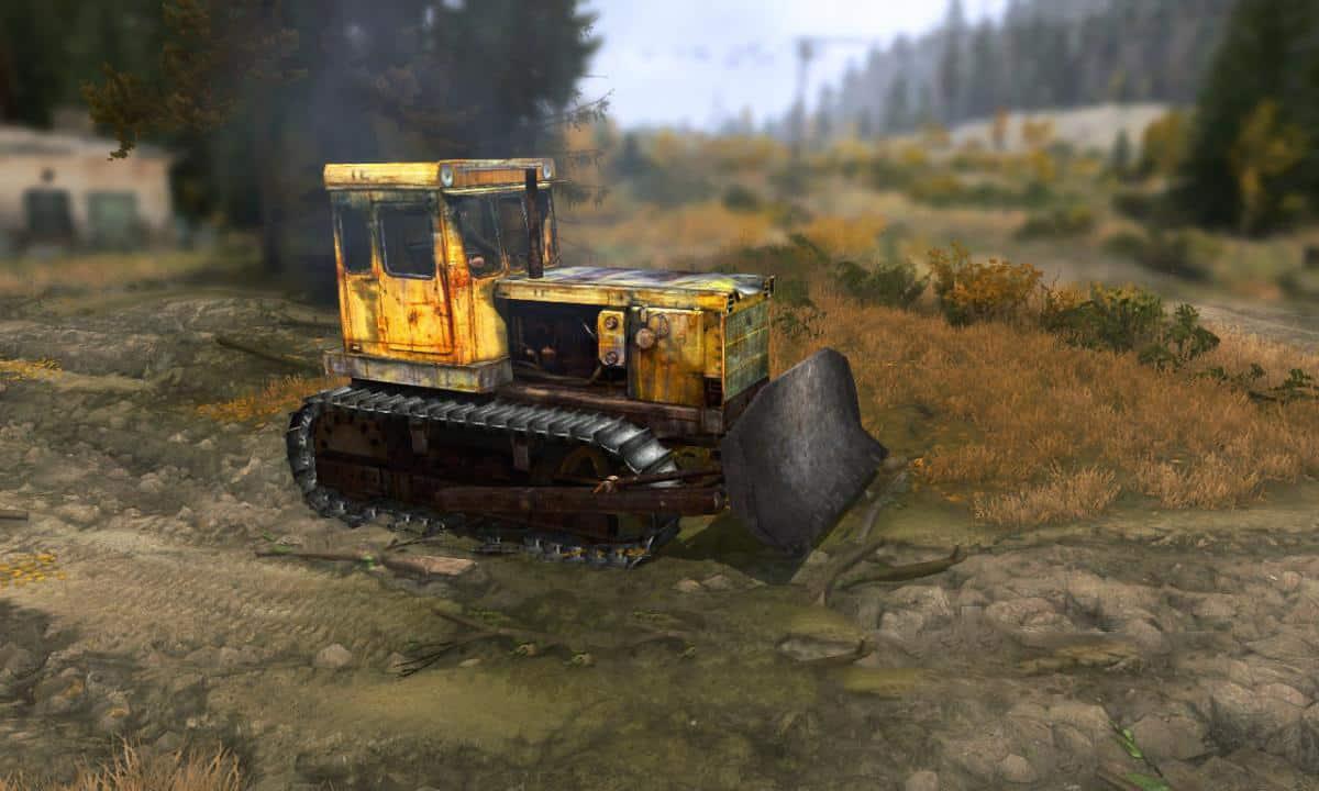 Spintires:Mudrunner - ChTZ T-130 Tractor V16.02.20