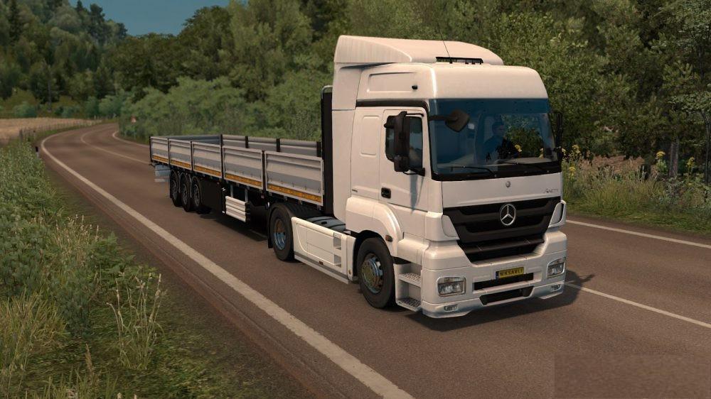 ETS2 - Mercedes-Benz Axor (1.35+)