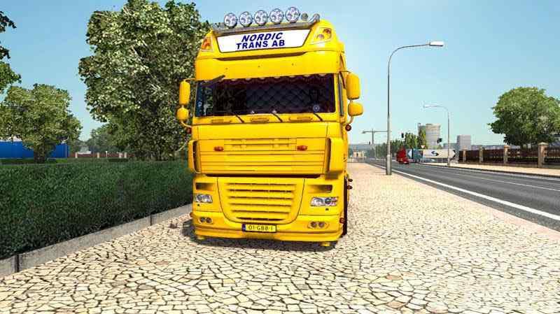 ETS2 - Daf Xf 105 Nordic Trans AB Truck (1.37.x)