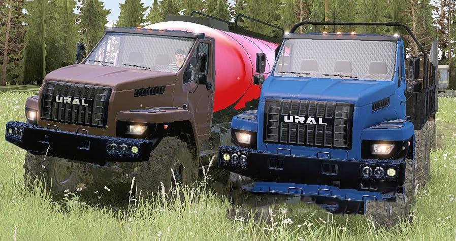 Spintires:Mudrunner - Ural Next Limited Truck V09/27/20