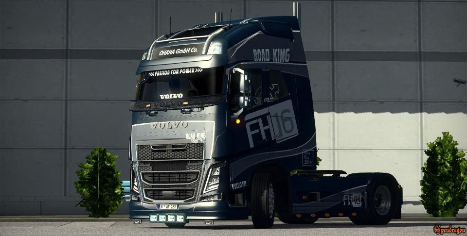 ETS2 - Volvo FH 2012 Truck V24.03R (1.37.x)