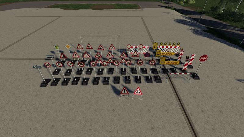 FS19 - Placeable Barrier Pack V4.0