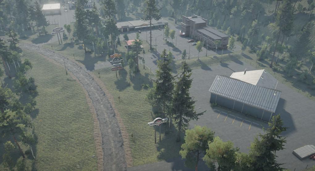 SnowRunner - Highway Haulin Map