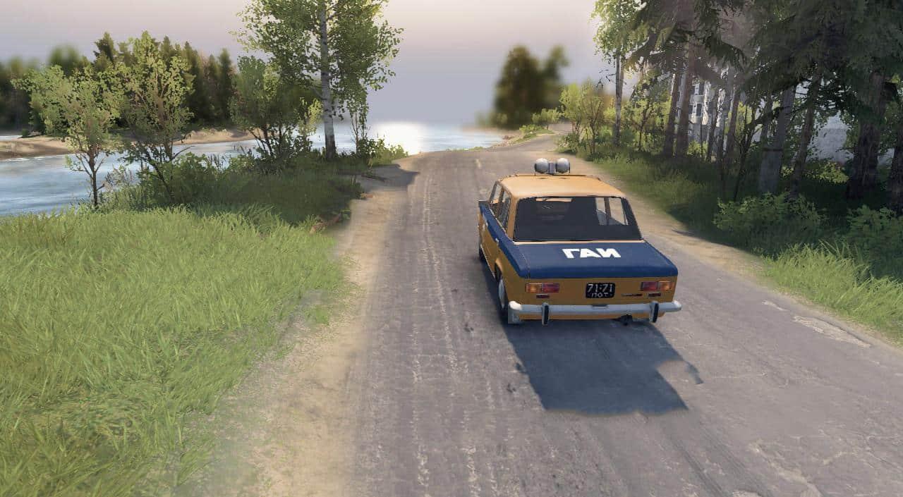Spintires - Vaz-2101 Police /Gal Ussr V02.12.19