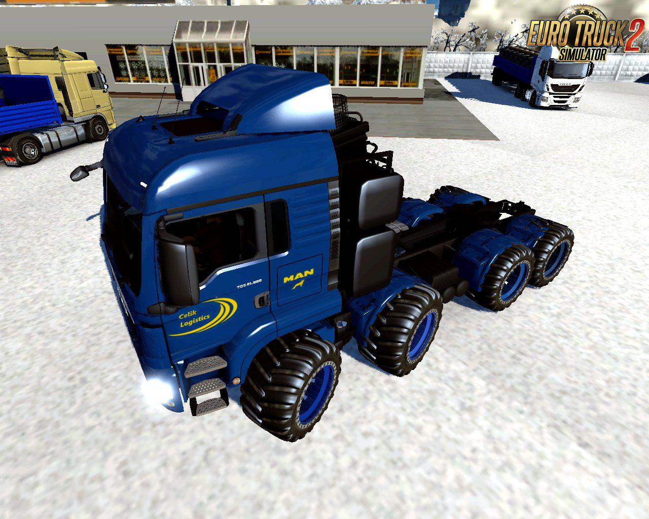 ETS2 - Man Tgs Off Road V1.0 (1.39 - 1.40)