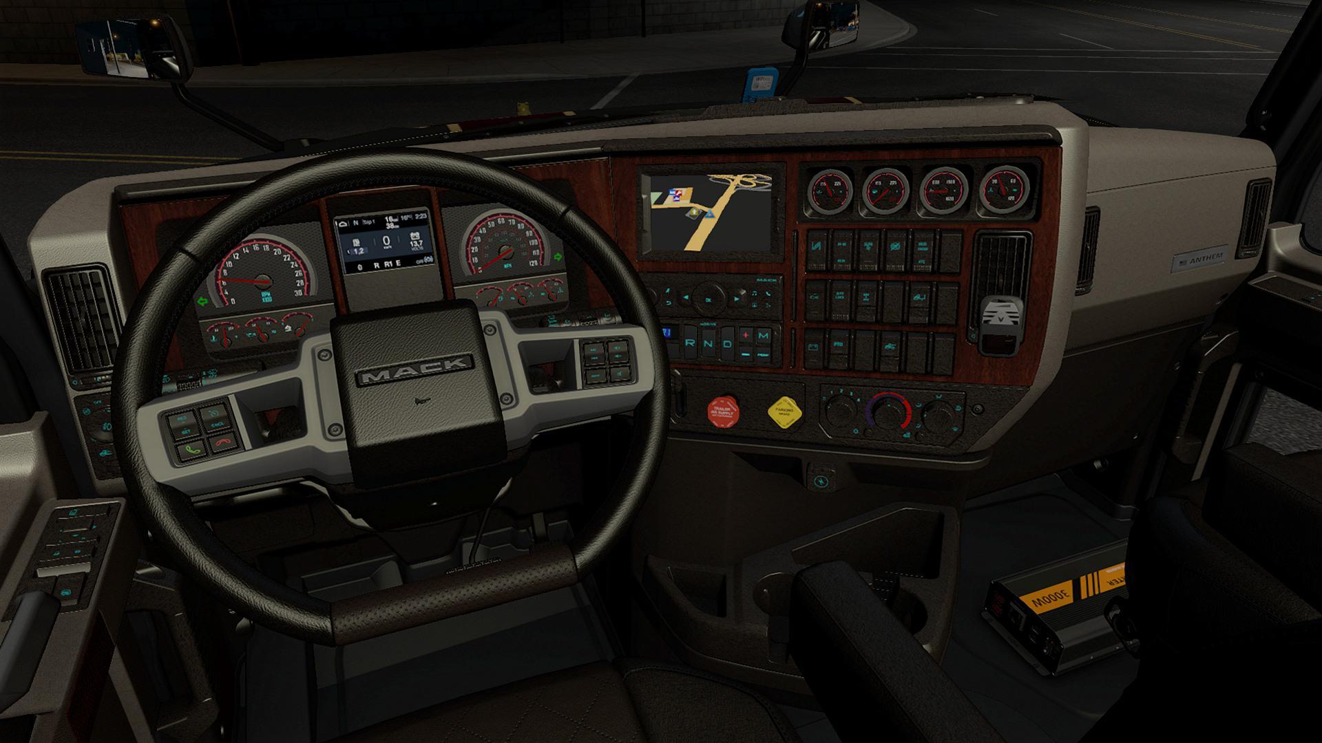 ATS - Interior for Mack Anthem V0.9 (1.39.x)