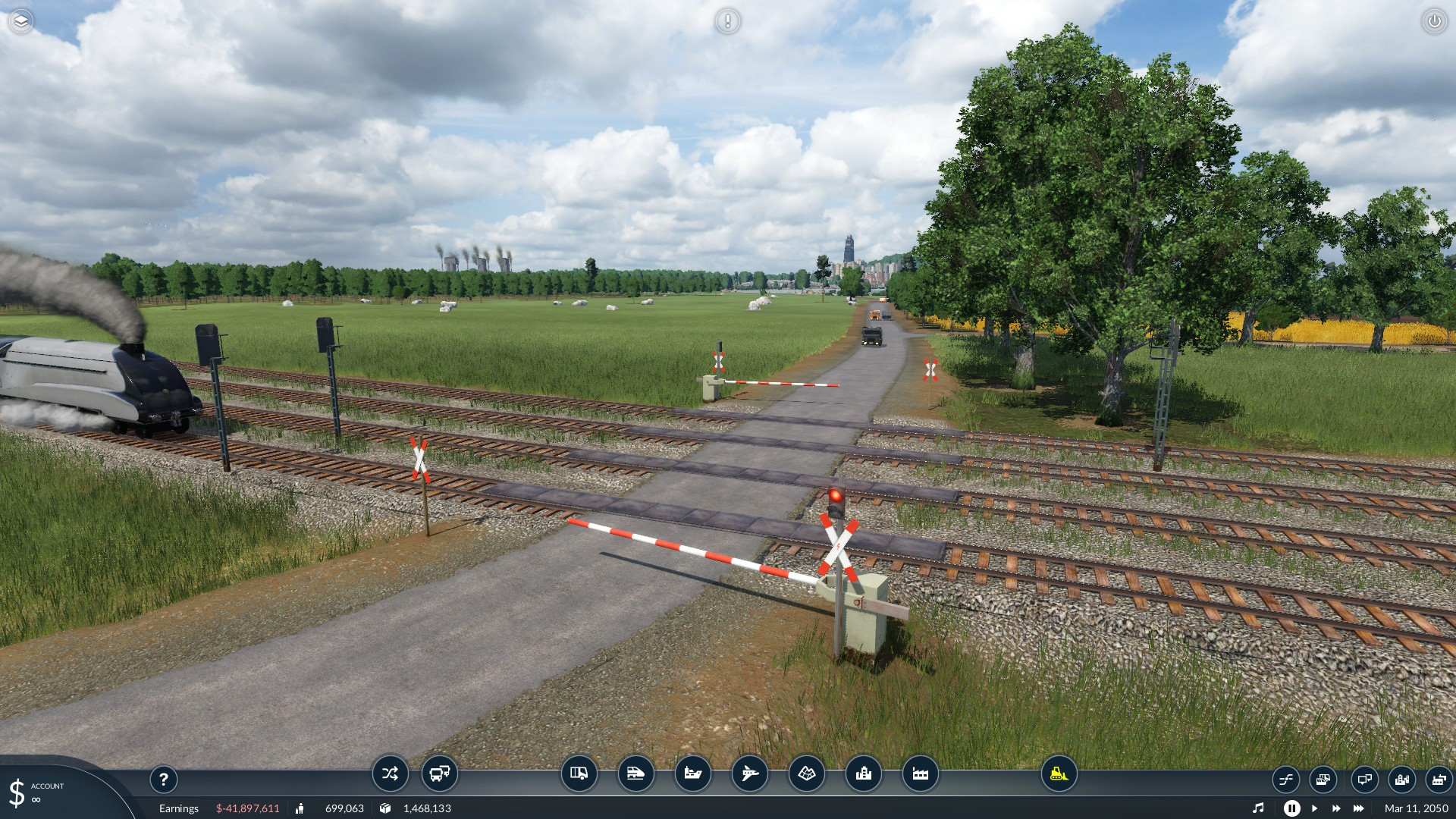 Transport Fever 2 - Fixed Level Crossing Animations