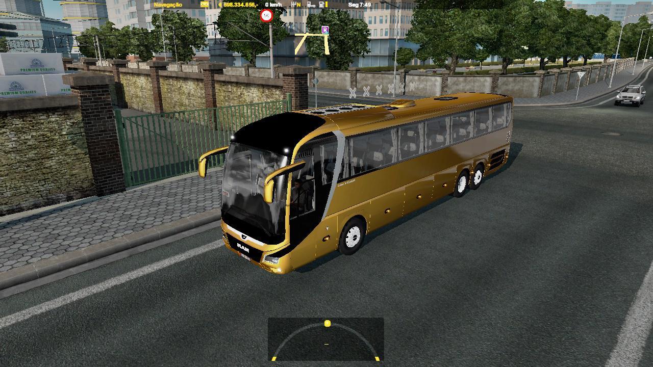 ETS2 - Man Coach Lion Bus Mod (1.36.x)