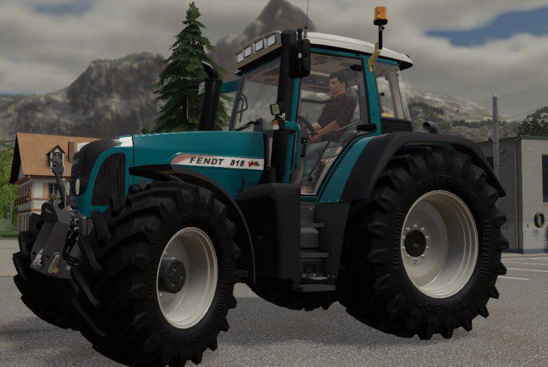 FS19 - Fendt Favorit Vario 800 TSM Tractor V1.0