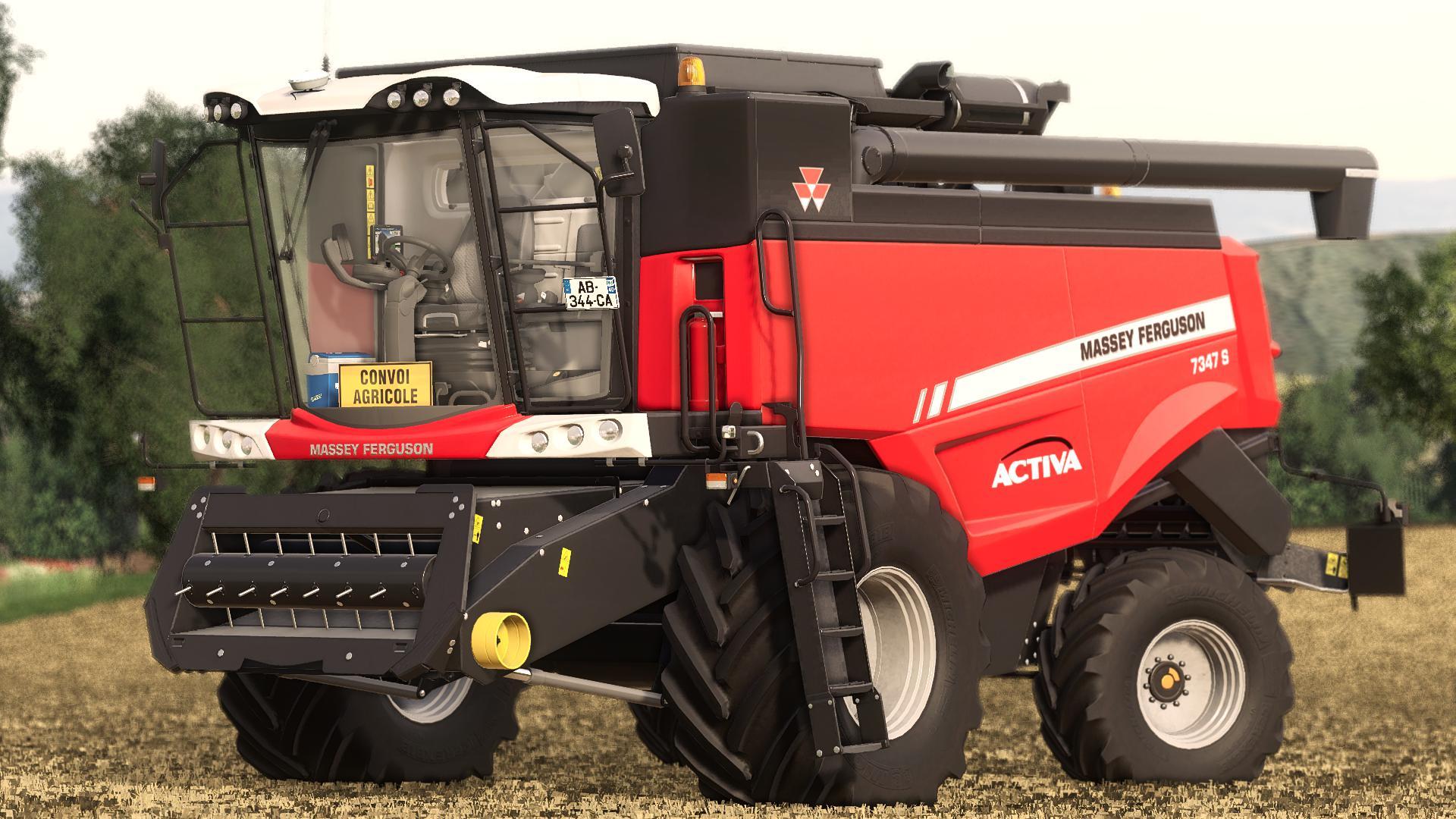 FS19 - Massey Ferguson Activa 7347S Harvester V1.2