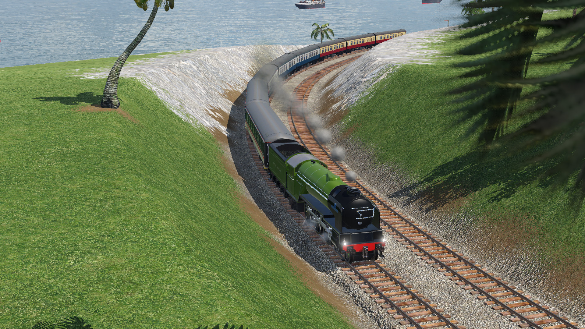 Transport Fever 2 - LNER / BR Peppercorn A1 4-6-2