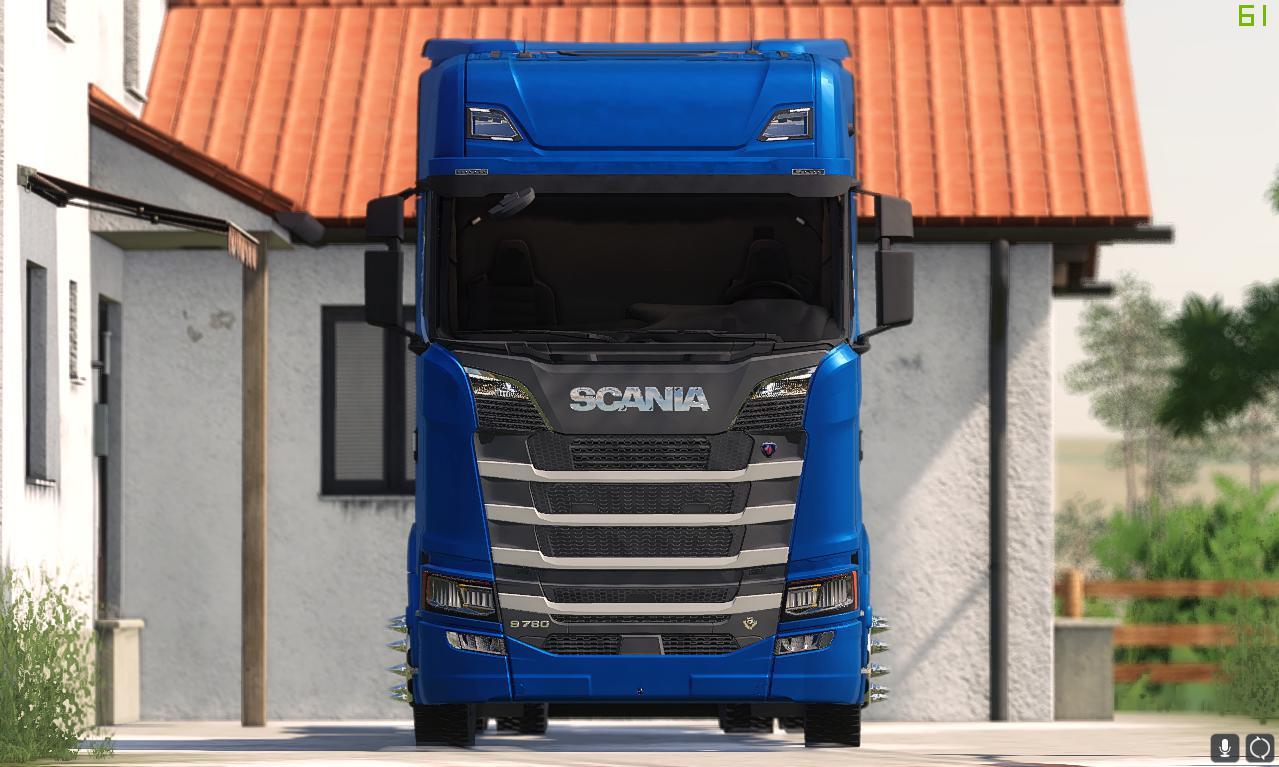FS19 - Scania S E R Erik Isac V1.0