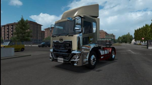 ETS2 - New UD Quon Truck V1.1 (1.38.x)