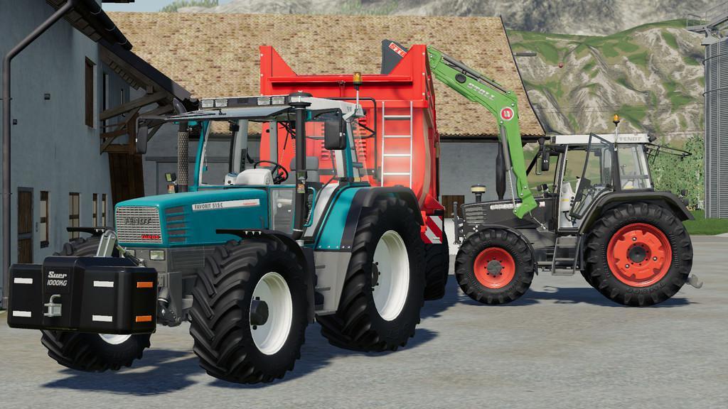 FS19 - Fendt Favorit 509 510 V3.0