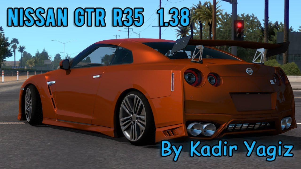 ATS - Nissan GTR R35 V2.1 (1.38.x)