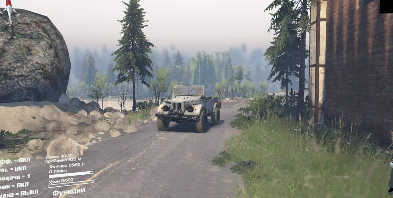Spintires - It Was in Bukhalovo Map V1.0.0