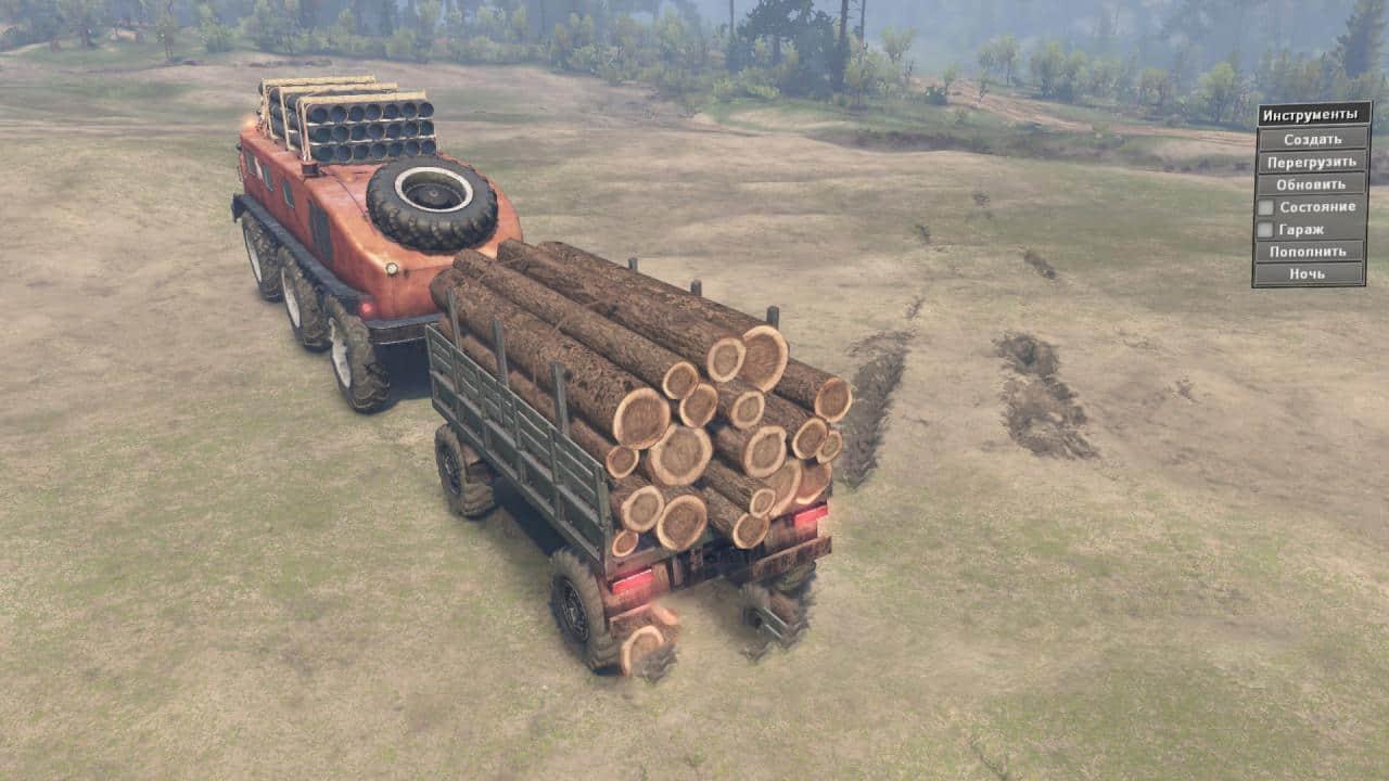 Spintires - E167 (Zil-E167) Truck V1.0