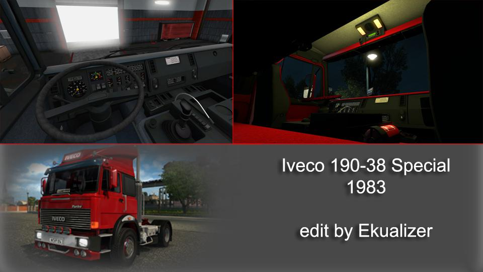 ETS2 - Iveco 190-38 Special V2.2 (1.35.x)
