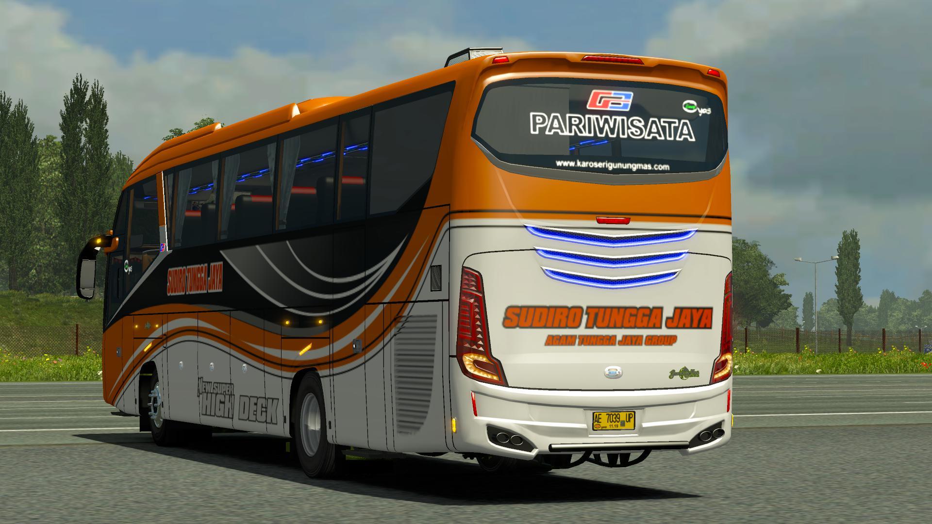 ETS2 - Zeppelin G3 Bus Mod (1.35.X)