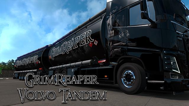 ETS2 - Volvo Tandem GrimReaper Skin V1.0 (1.37.x)