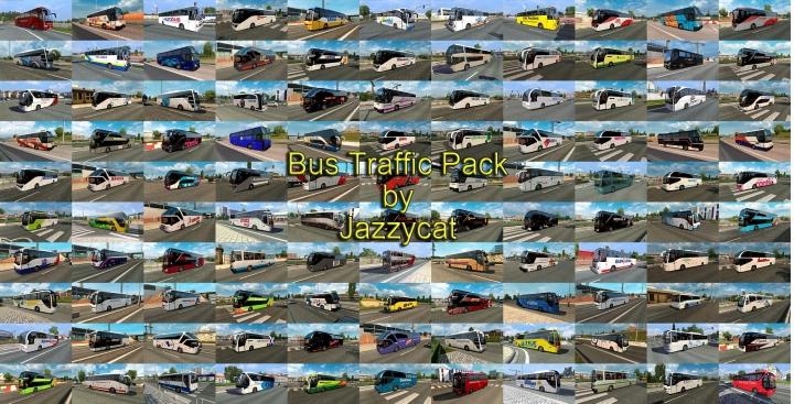 ETS2 - Bus Traffic Pack V11.9 (1.40.x)