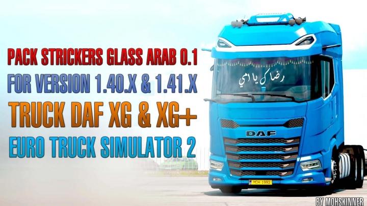 ETS2 - Strickers Glass Arab V0.1 (1.41.x)