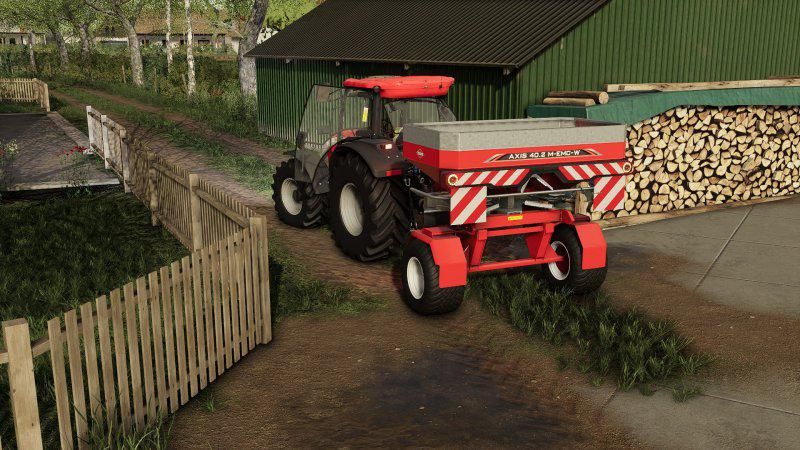 FS19 - Kuhn Axis Trailered V1.0