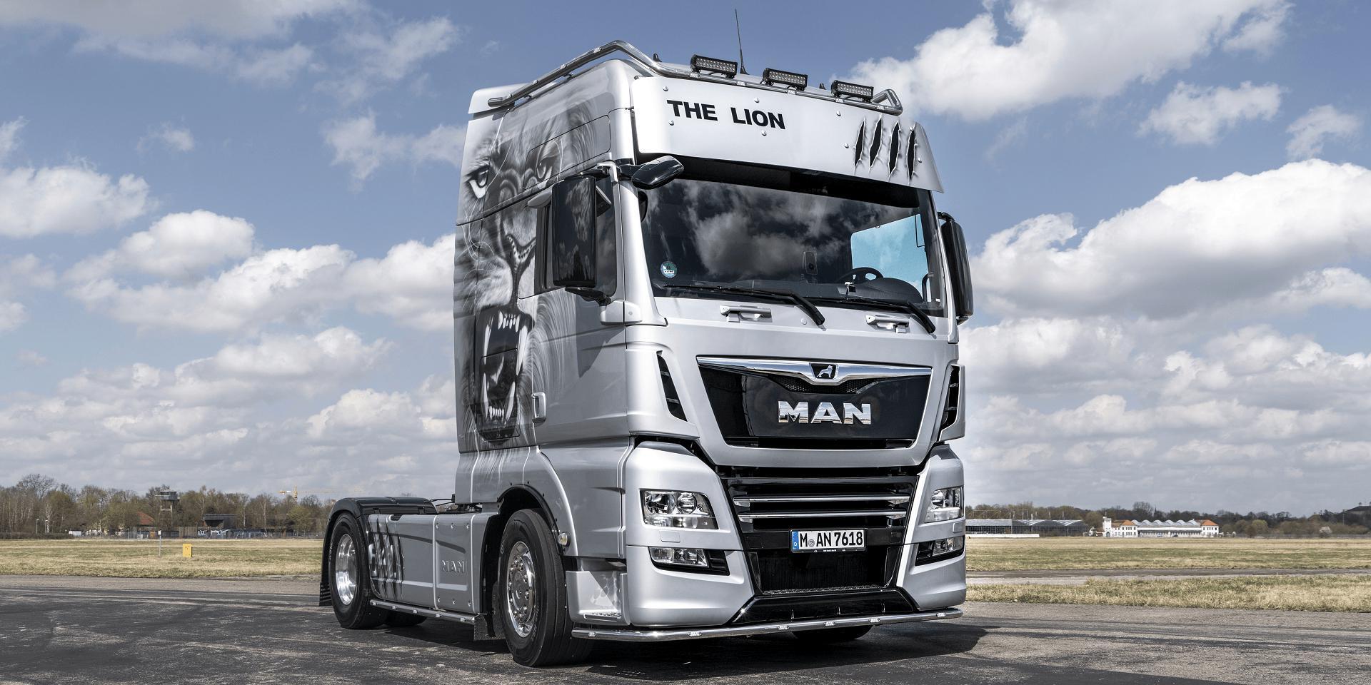 ETS2 - Man Tgx Euro 6 Real D38 Engine Sound V6 (1.36.x)