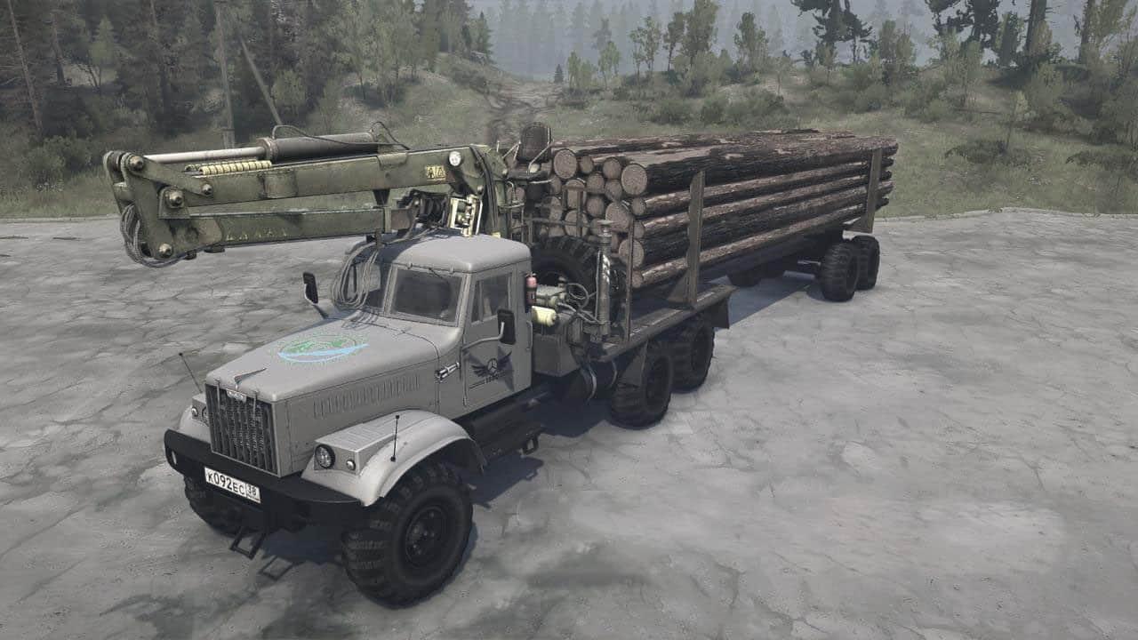 Spintires:Mudrunner - KrAZ-255 Truck V1.0