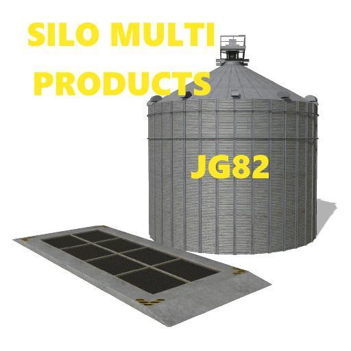 FS19 - Main Silo Multi Products V1.0
