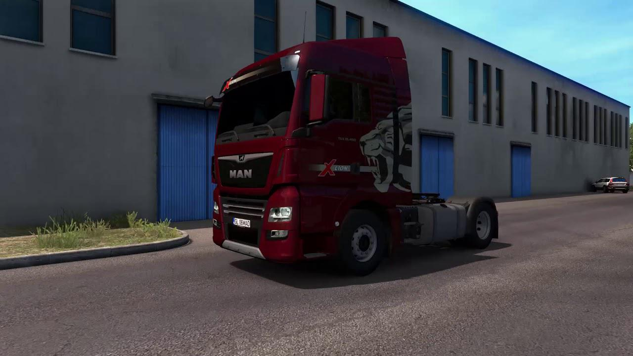 ETS2 - Man Tgx Euro 6 Truck (1.39.x)