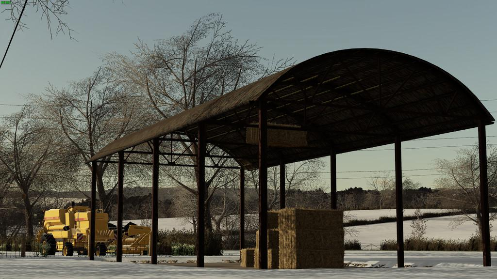 FS19 - Placeable British Haybarn V1.0