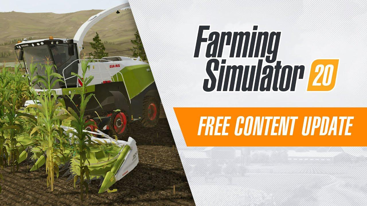 Claas in Farming Simulator 20: Free Content Update out Now!