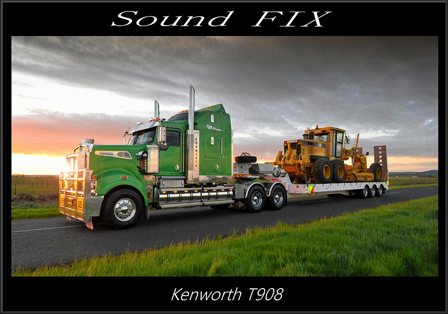 ATS - Kenworth T908 Sound Fix Mod V1.1 (1.38.x)