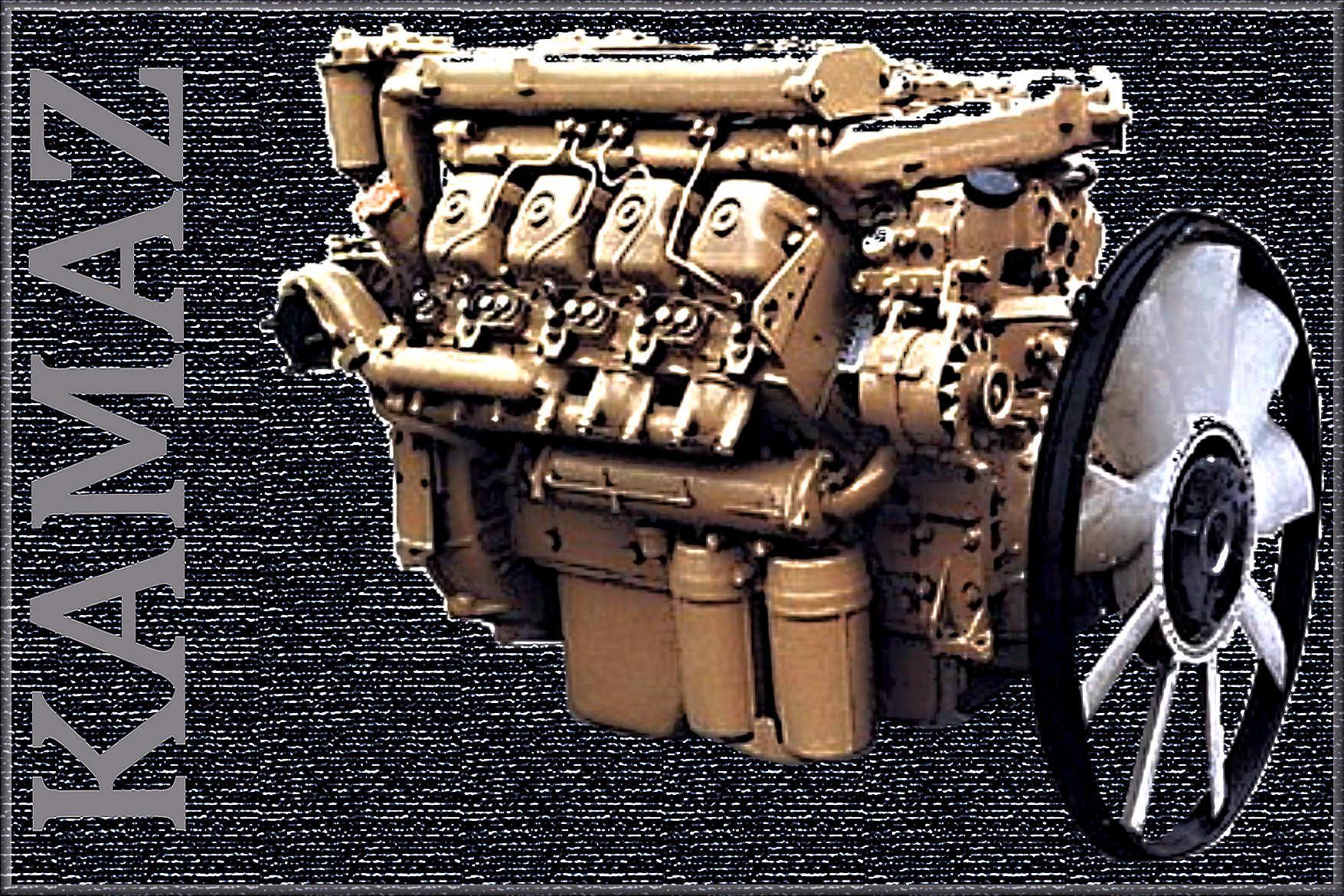 ETS2 - Kamaz Engines V1.15 (1.36.x)