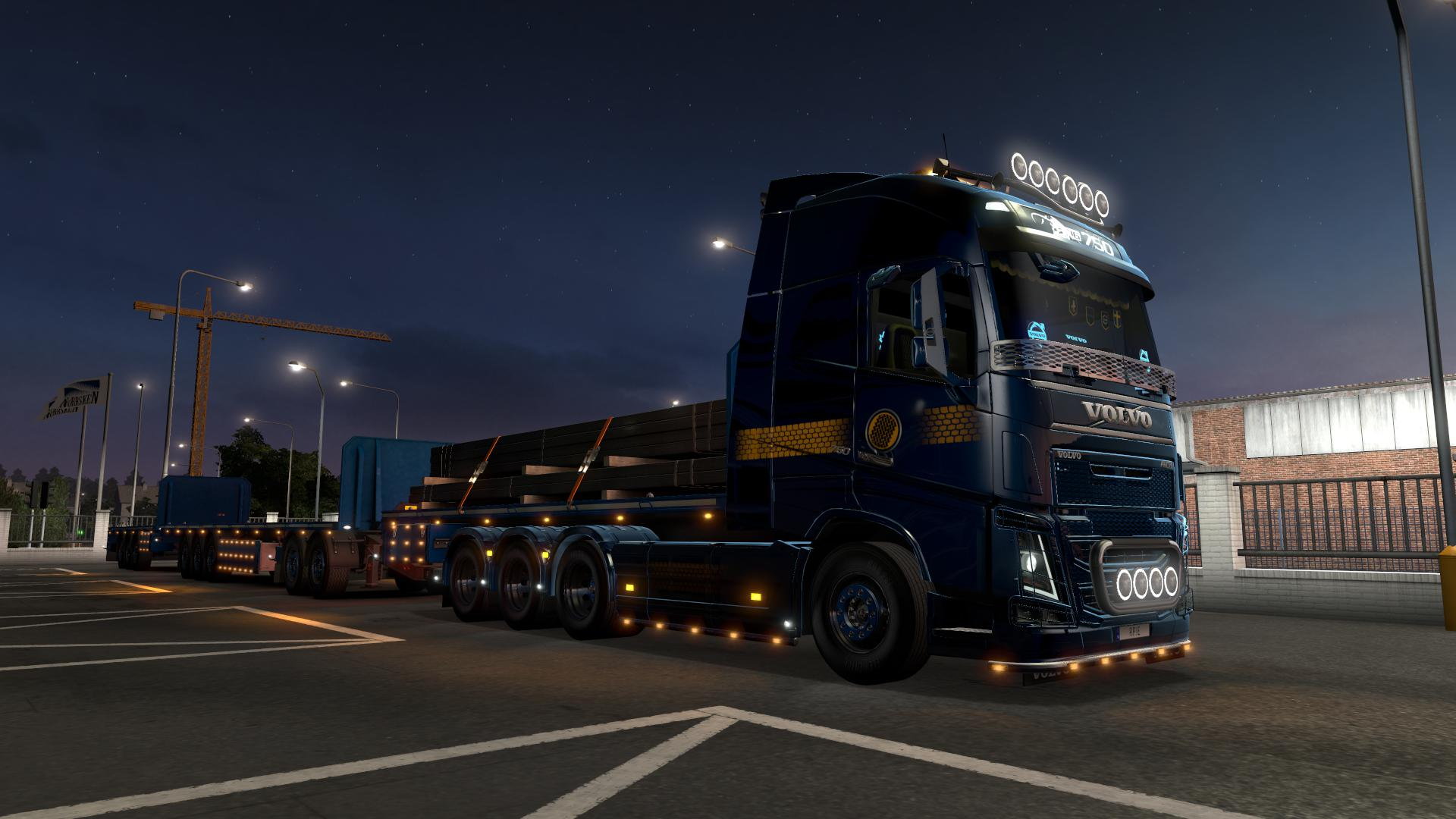 ETS2 - Rpie Volvo FH16 2012 Truck V0.46S (1.39.x)