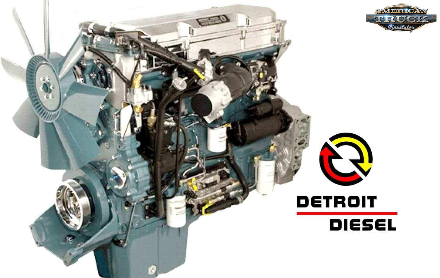 ATS - Detroit Series 60 Engines Pack V1.0 (1.37.x)
