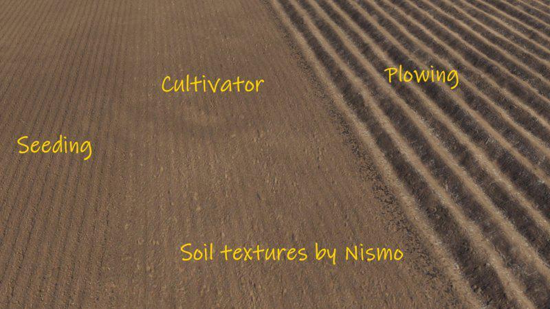 FS19 - Soil Textures V1.0