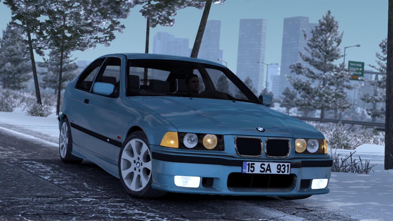 ETS2 - BMW E36 Compact V1R40 (1.38.x)