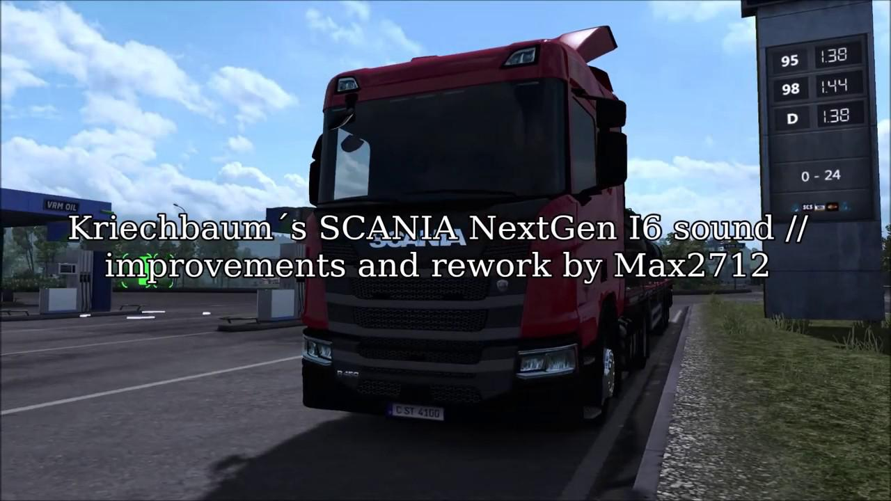 ETS2 - Improvements and Rework Scania NG I6 (1.36.x)