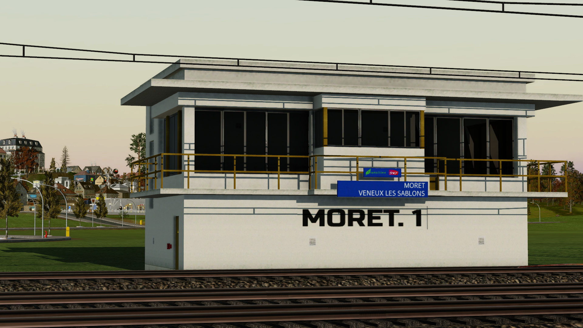 Transport Fever 2 - French Switching Box