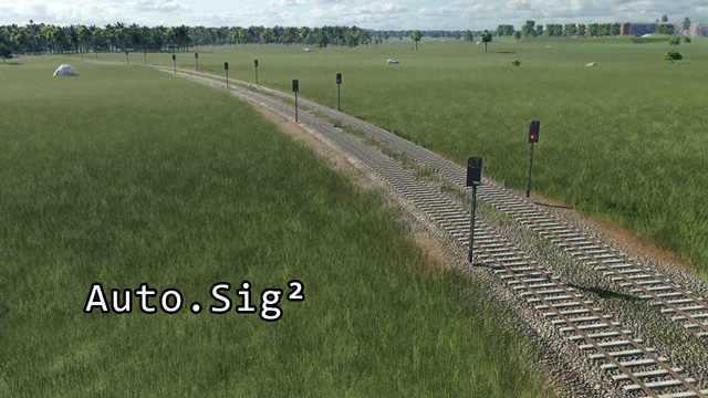 Transport Fever 2 - Auto Signal